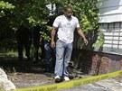 Policie p�tr� po dal��ch ob�tech v Clevelandu, kde nalezla u� t�i t�la mlad�ch