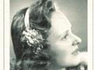 Věra Olivová v roce 1946.