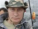 Dobrodruh Putin op�t zaz��il, ulovil ob�� �tiku (26. �ervence)