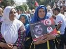 V Tunisku v sobotu pohřbili zavražděného opozičního politika Muhammada...