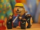Hračky, které vyrobili vězni v heřmanické věznici.