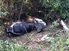 Nehoda motocyklu u Úval