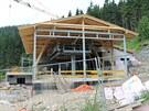 Nová budova lanovky na Sněžku