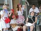 Oslava narozenin pacienta FN v Plzni Sa�i.