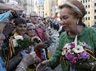 Královna Paola se loučí. Půvabné italské šlechtičně, se kterou se Albert II....