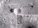 Vlajka, kterou na Měsíci zanechali astronauti z mise Apollo 16 stále stojí a...