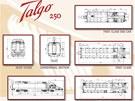 Nákresy vlaku Talgo 250