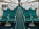 Interiér vlaku Talgo 250