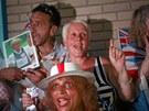 Britové slaví narození královského potomka. (22. července 2013)