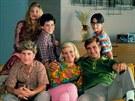 Seriál Báječná léta (1988-1993): Olivia d'Abo, Jason Hervey, Fred Savage, Alley...