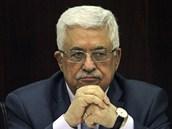 Palestinský prezident Mahmúd Abbás