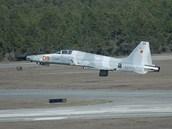 F-5 Tiger II - jednomístný nadzvukový stíhací letoun vytvořený americkou firmou