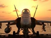 Americký letoun F/A-18 Hornet