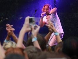 Ozdobou loňského ročníku festivalu bylo vystoupení Tomáše Kluse. Foto: Michal