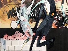 Gerald Scarfe: ilustrace k projektu Pink Floyd The Wall