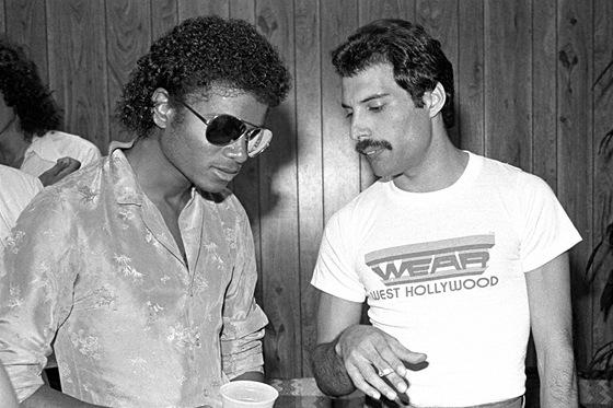 Michael Jackson s Freddiem Mercurym