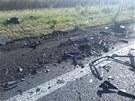 Nehoda u Litomyšle 31.7.2013. Foto: Policie ČR