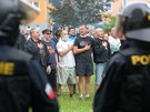 Protiromská demonstrace v Českých Budějovicích (29. června 2013)