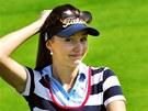 Česká profesionální golfistka Klára Spilková