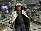 I oceláře Michala Cymorka potrápilo vedro.