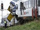 Doprava na důležitém železničním uzlu se po něhodě zastavila. (29. července