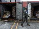 Panama na�la na severokorejsk� lodi, kter� plula z Kuby, dal�� vojenskou