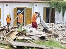 Na Kuksu se rozjely stavební práce (29.7.2013).