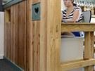 Nábytek vyráběný z dřevěných palet určených původně k přepravě zboží si nachází...