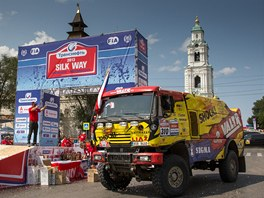 Jaroslav Valtr během Silk Way Rally.