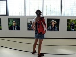 Z instalace výstavy Transgender Me