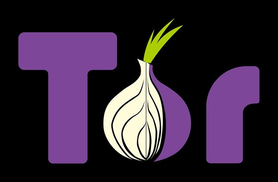 Logo sítě Tor, která umožňuje anonyní procházení tzv. temného webu