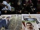 V Egyptě už měsíc protestují přívrženci Muslimského bratrstva proti sesazení...