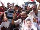 Protesty přívrženců Muslimského bratrstva v Káhiře (2. srpna)