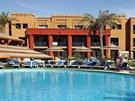 Hotelový komplex Titanic Palace v egyptské Hurghadě.