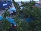 Bouřka v Jihlavě