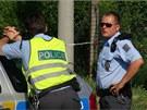 Příčiny nehody a její okolnosti vyšetřují policisté (3. srpna 2013)