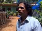 Záběry indické televize z policejního vyšetřování vraždy Češky v Goa.