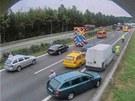 Situace kolem 63. kilometru D1 ve směru na Brno