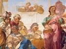 Václav Vavřinec Reiner: Sibyly - detail fresky v kartouze v Gamingu (Rakousko