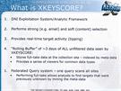 Podrobnosti o programu XKeyscore - umo��uje sb�r dat v re�ln�m �ase, v�b�r na...