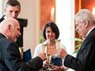 Prezident republiky Miloš Zeman jmenoval 7. srpna na Pražském hradě nové soudce...