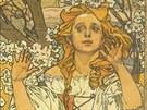 Alfons Mucha: Maude Adamsová