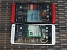 Přesto padne zmenšené HTC lépe do ruky než větší model. Je to opravdu příjemný