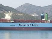 Největší nákladní loď Maersk McKinney Moller