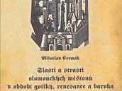 Titulní strana nové knihy olomouckého historika Miloslava Čermáka z roku 2013