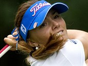 �eská golfistka Klára Spilková na turnaji  Pilsen Golf Masters 2013 na h�i�ti v...