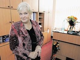 Bývala primátorka Frýdku-Místku a současná senátorka Eva Richtrová.
