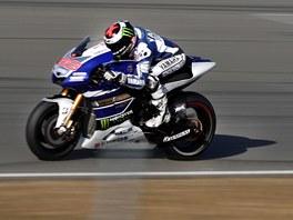 Ve středu 7. srpna testoval na Masarykově okruhu Jorge Lorenzo.
