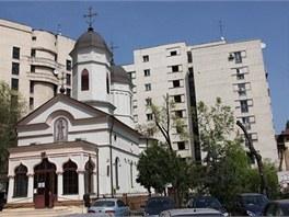 Kostel svatého Stefana v Bukurešti.