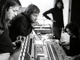 Pink Floyd v režii studia v Château d'Hérouville